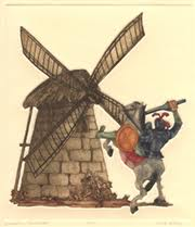 Don Quixote Charging the Windmill
